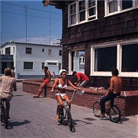 hermosa beach strand (no. 74) by leroy grannis