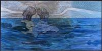 al mar, espejo de mi corazon (to the sea, mirror of my heart) by julio valdez