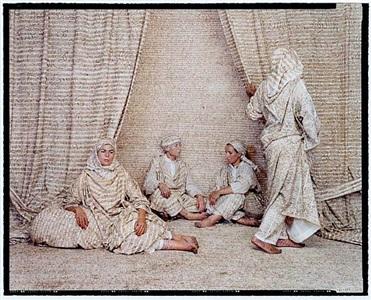 les femmes du maroc #1 by lalla essaydi