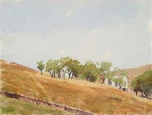 paros (6/3/96) by robert bechtle