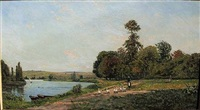 au bord d l'oise by hippolyte camille delpy