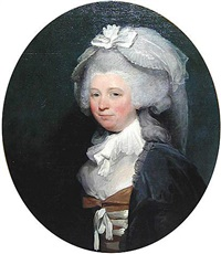 portrait of a lady by gilbert stuart