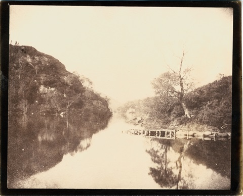 loch katrine by william henry fox talbot