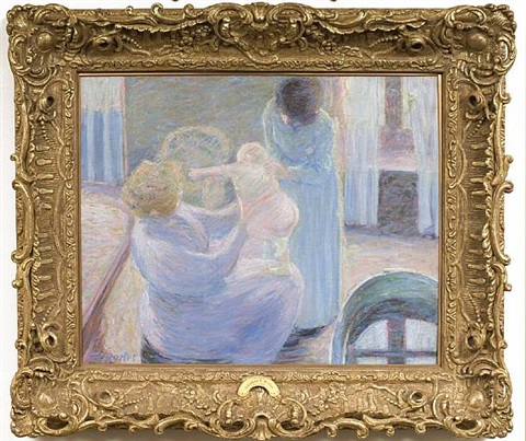 the bath by theodore earl butler