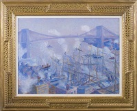 brooklyn bridge by theodore earl butler