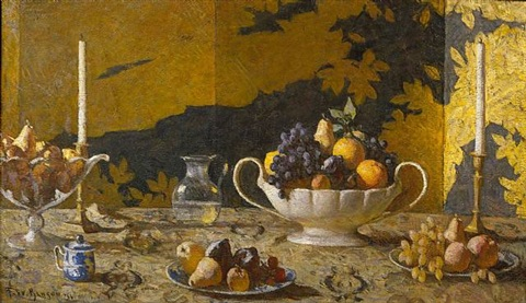 still life by frank weston benson