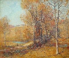 connecticut landscape by guy carleton wiggins