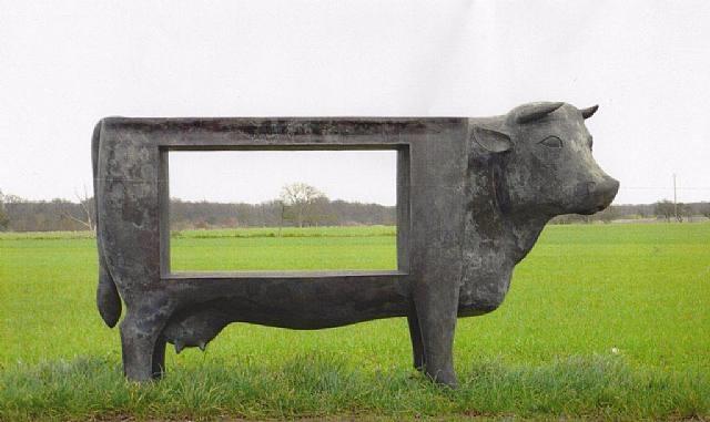 vache paysage by françois-xavier lalanne
