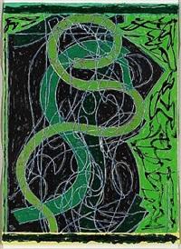 imola five ii by frank stella