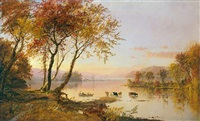 greenwood lake by jasper francis cropsey