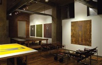 a works in progress show 2006 installation by david scanavino