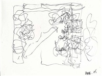 sketch of new gehry house by frank gehry