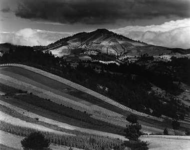 the majestic landscape by brett weston