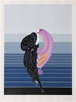 beauty and the beast by erté