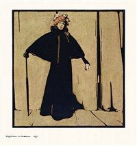 sarah bernhardt by william nicholson