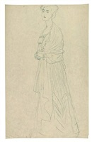 portrait of margaret stonborough-wittgenstein by gustav klimt