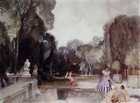 the secret garden by william russell flint