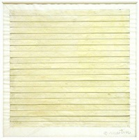 untitled drawing by agnes martin
