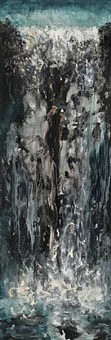 waterfall i by maggi hambling
