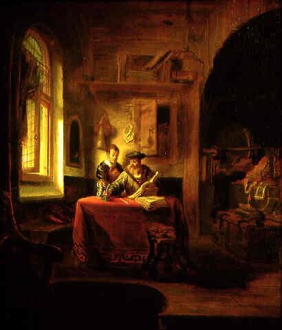 the philosopher by gerbrand van den eeckhout