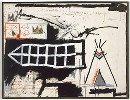 untitled (samo new york) by jean-michel basquiat