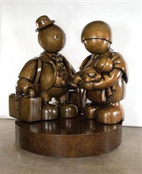immigrant family (large) by tom otterness