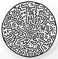 untitled, september 26-27 by keith haring