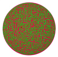untitled, march by keith haring