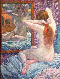 the scarlet ribbon by théo van rysselberghe