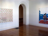 "installation view of ""mirror"" and"