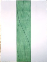 double line column study by robert mangold