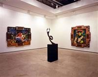 installation view by ashley bickerton
