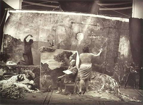 studio of the painter by joel-peter witkin