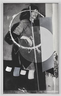 untitled (gudrun with white circle) by meredyth sparks