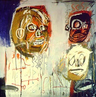 three delegates by jean-michel basquiat