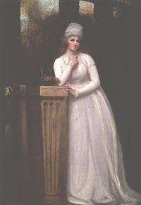 anne, marchioness townshend by george romney