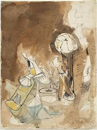 fireplace in virginia by arshile gorky