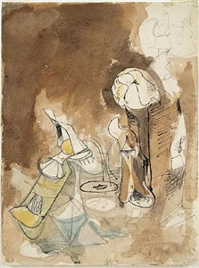works on paper by arshile gorky