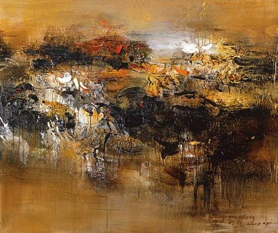 Sans titre par wang yancheng sur artnet for Artiste peintre chinois
