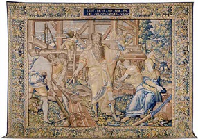 a brussels renaissance biblical tapestry (tpy 2)