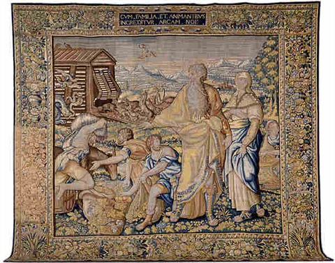 a brussels renaissance biblical tapestry (tpy 3)