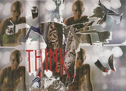 art basel by mimmo rotella