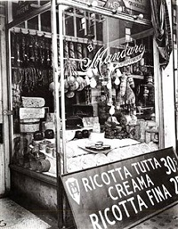 cheese store, new york by berenice abbott
