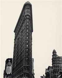 flatiron building, new york by berenice abbott