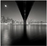 brooklyn bridge, study 2, new york by michael kenna