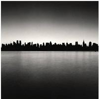 manhattan skyline, study 1, new york by michael kenna
