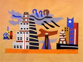 skyline by stuart davis