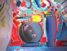 flower blossom lll by peter max