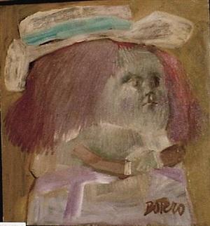 menina, after velasquez by fernando botero