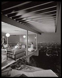 case study house #22, pierre koenig, los angeles, california by julius shulman